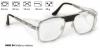 Okulary ochronne korekcyjne do zaszklenia Infield 9465 04 Srebrny matowy