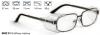 Okulary ochronne korekcyjne do zaszklenia Shoptic 9622 01 Grafitowy matowy