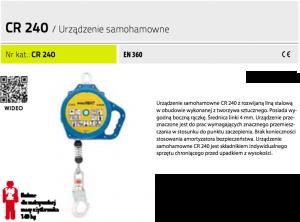 Urządzenie samohamowne Protekt CR 240  6m